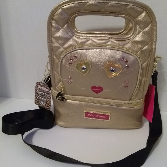 Betsey Johnson Handbags - Betsey Johnson Insulated Lunch Tote